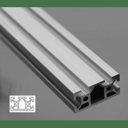 Aluminium Profile 6mm Slot 20x40