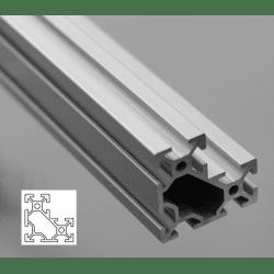 L-Shape Aluminium Profile 6mm Slot 40x40x20