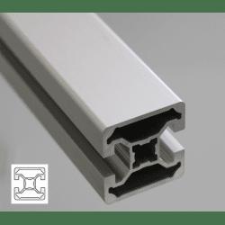 Profilé aluminium 40x40 fente 10 mm