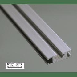 Flat Aluminium Profile 6mm Slot 30x10