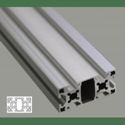 Profilé aluminium 25x50 fente 6 mm