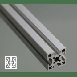 Aluminium Profile 6mm Slot 25x25