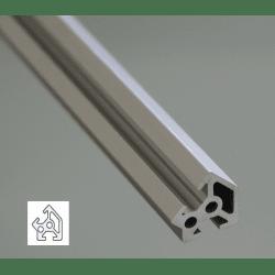Aluminium Profile 6mm Slot 20x20 Angle 45°