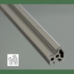 Aluminium Profile 6mm Slot 20x20 Angle 30°