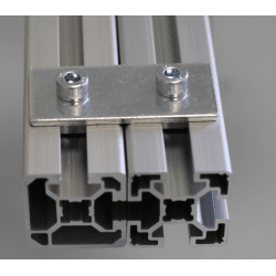 Sheet Metal Joint for 10 mm slot 45x45 profile