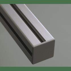 Embout de protection pour profilés aluminium 45x45 fente de 10mm - Gris