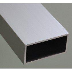 Profilé aluminium tube carré 25x50