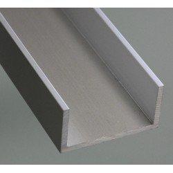 Profilé aluminium en U 15x15