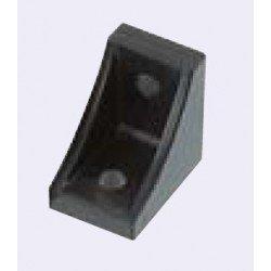 Fastening bracket for 10mm profiles – for cross fastening – for 40 or 80 profiles – Black