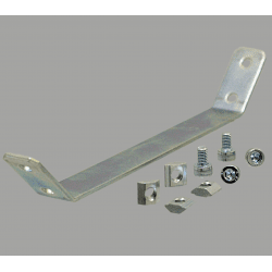 Plaque de renfort pour profilés 20x20 fente de 6 mm