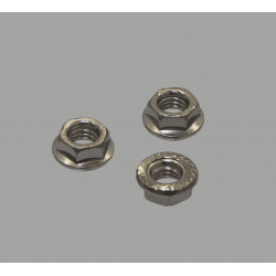Pack of 10 nuts for M5 fastening bolt for 6mm slot profiles