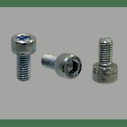 Lot de 10 vis de fixation pour profilé à fente de 6mm - Filetage M3 - Tête à six pans creux
