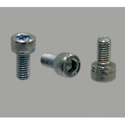 Pack of 10 fastening screws for 10mm slot profiles – M4x20 threading – Socket cap screw