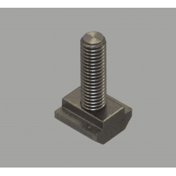 M8 fastening bolts for profiles with 10mm slot