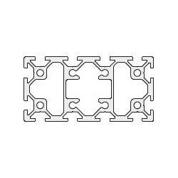 Aluminium Profile 6mm Slot 40x80