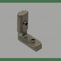 Equerre de fixation interne profilés 8 mm