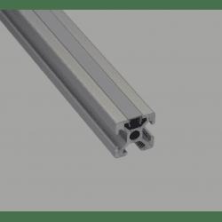 Cover profile – 6mm slot, grey