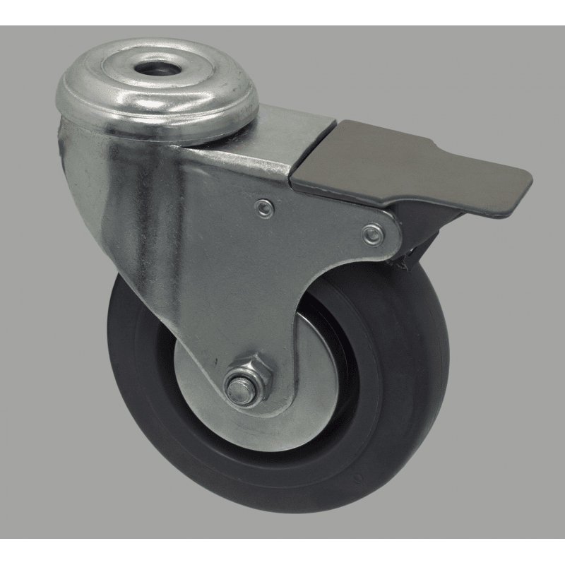 Roulette charge 100 kg - avec frein