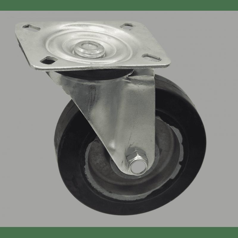 Roulette charge 250 kg - Montage à plateau