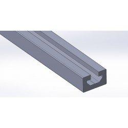 Profilé aluminium 30x18 - fente de 10 mm