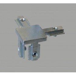 Raccord d'assemblage interne - 3 profilés fente de 8 mm