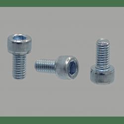 Pack of 10 fastening screws stainless steel – M8x25 threading – Socket cap screw