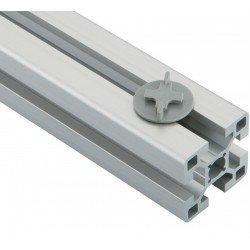 Bloc serre-câbles - Profilés à fente de 10 mm
