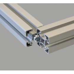 Central screws for 8mm slot profiles