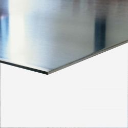 Anodized aluminum plate 2 mm thick