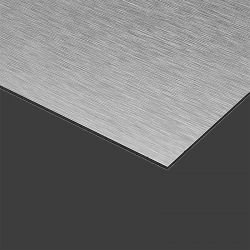 Brushed aluminium sandwich panel 3mm thick (Alupanel/Dibond)