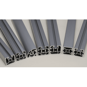 Profilés fente de 10 mm series 50 / 60
